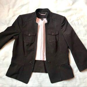 White House black market peplum jacket size 12